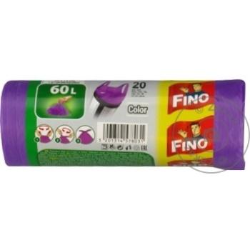 Saci menaj Fino cu maner 20x60l - cumpărați, prețuri pentru Metro - foto 3