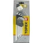 Ключи звездочки Topex TS10-T50 набор 9шт
