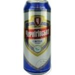 Пиво светлое Черниговське ж/б 0,5л