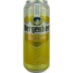 Пиво светлое Bergenbier ж/б 0,5л