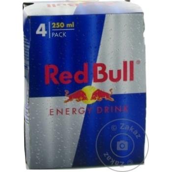 Bautura energizanta Red Bull doza 4x0,25l - cumpărați, prețuri pentru Metro - foto 1