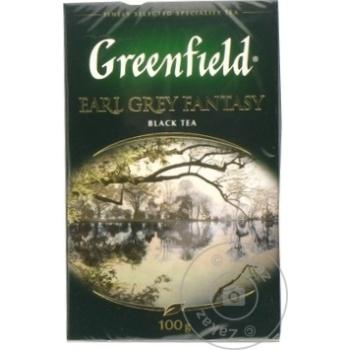 Ceai Greenfield negru infuzie cu bergamota 100g - cumpărați, prețuri pentru Metro - foto 3
