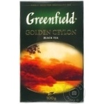 Ceai Greenfield negru infuzie Ceylon 100g - cumpărați, prețuri pentru Metro - foto 2