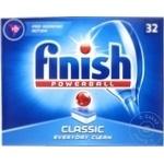 Таблетки для посудомоечной машины Finish Classic 32шт