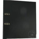Папка архивная Sigma Черная PP 75мм