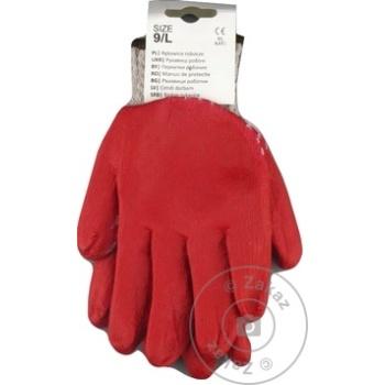 Перчатки Kaem х/б L - купить, цены на Метро - фото 1