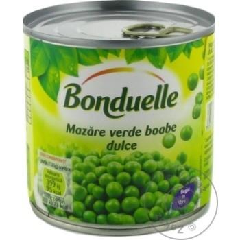 Mazare verde Bonduelle 400g - cumpărați, prețuri pentru Metro - foto 1