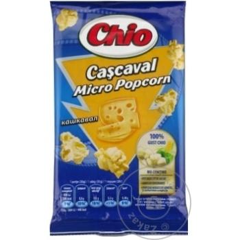Попкорн для микроволновой печи Chio сыр 80г - купить, цены на Метро - фото 3