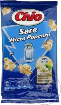 Popcorn pentru cuptor Chio sare 80g - cumpărați, prețuri pentru Metro - foto 1