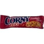 Батончик Corny со злаками и клюквой 50г
