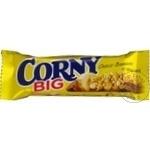 Baton de cereale Corny cu banana 50g