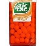 Drajeuri Tic Tac portocala 18g