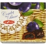 Bomboane Bucuria prune in ciocolata in cutie 200g