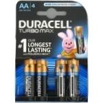 Baterii Duracell Turbo AA MN1500 K4 4buc