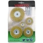 Щетки для дрели Verto набор 5шт