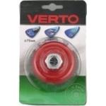 Щетка Verto проволочная конус 75мм