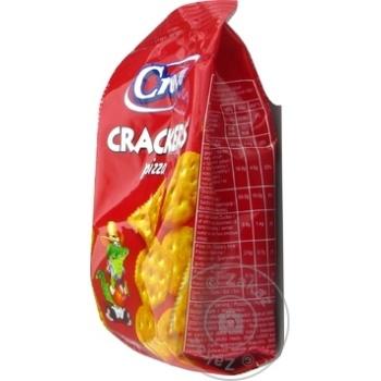 Crackers Croco cu gust de pizza 100g - cumpărați, prețuri pentru Metro - foto 2