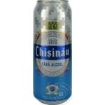 Безалкогольное пиво Chisinau ж/б 0,5л