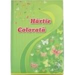 Цветная бумага А4 20листов