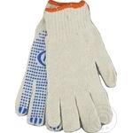 Перчатки рабочие трикотажные односторонние MPN (1уп - 12пар)