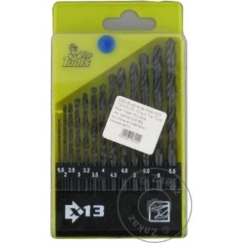 Сверла по металлу Top Tools HSS набор 13шт 1,5-6,5мм - купить, цены на Метро - фото 1