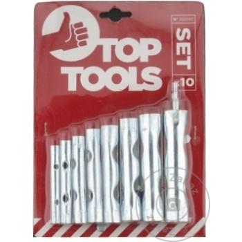 Ключи трубчатые Top Tools 6-22мм набор - купить, цены на Метро - фото 3