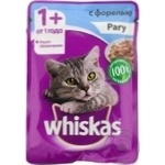 Корм для кошек Whiskas рагу/форель 85г