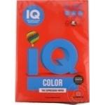 Бумага д/кс. A4 цветная IQ Интенсив кораллово-красная 500л