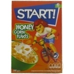 Хлопья кукурузные с мёдом Start 280г