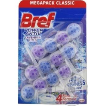 Odorizant WC Bref Aktiv Lavender 3x50g - cumpărați, prețuri pentru Metro - foto 1