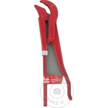 """Ключ трубный Top Tools 45° 1"""" - купить, цены на Метро - фото 2"""