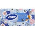 Салфетки в коробке Zewa Clean&Soft 3 слоя 90шт