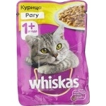Hrana pentru pisici Whiskas pui 85g