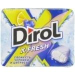 Жевательная резинка Dirol X-Fresh черника 9x16г