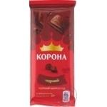 Ciocolata Korona neagra fara adaos 85g