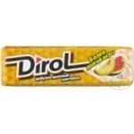 Жевательная резинка Dirol арбуз и дыня 13,6г
