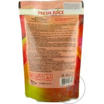 Sapun Fresh Juice Rezerva Mango/Carambola 460ml - cumpărați, prețuri pentru Metro - foto 2