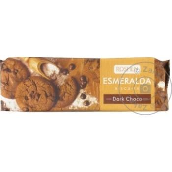 Biscuiti Roshen Esmeralda cu cacao 150g - cumpărați, prețuri pentru Metro - foto 1