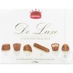 Шоколадные конфеты Корона de Lux молочный шоколад 254г