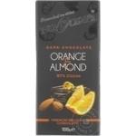 Шоколад Bucuria с апельсином и миндалем 100г