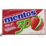 Guma de mestecat Mentos 3D asorti 33g