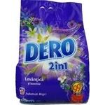 Стиральный порошок Dero 2in1 Лаванда 4кг