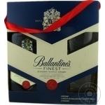 Whisky Ballantines 0,7l + 2 pahare