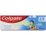 Детская зубная паста 6+ Colgate 50мл