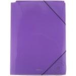 Mapă Erich Krause plastic cu elastic colorată A4
