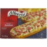 Багет Альберто Ветчина замороженный 250г