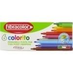 Carioci labavile Fibracolor 6buc
