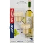 Set 2 doupuri pentru sticla de vin Tescoma Presto