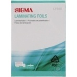 Folie laminare Sigma LF-580 100buc