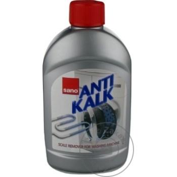 Solutie pentru inlaturarea calcarului Sano AntiKalk pentru masina de spalat 500ml - cumpărați, prețuri pentru Metro - foto 2